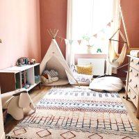 あるとやっぱり可愛い♡《ティピーテント》のある子供部屋インテリア