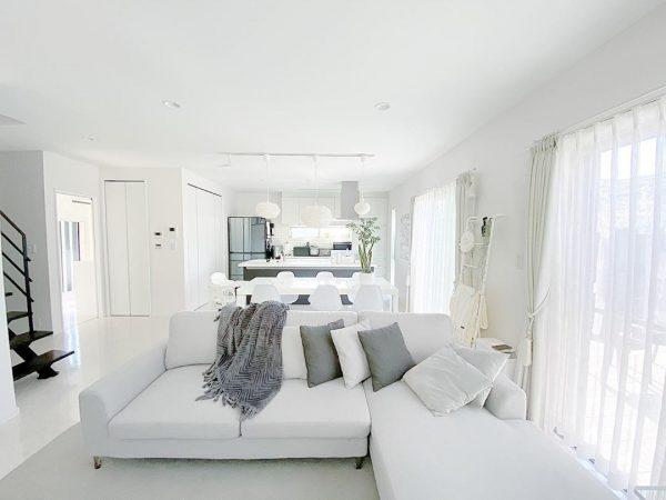白い家具 インテリア2