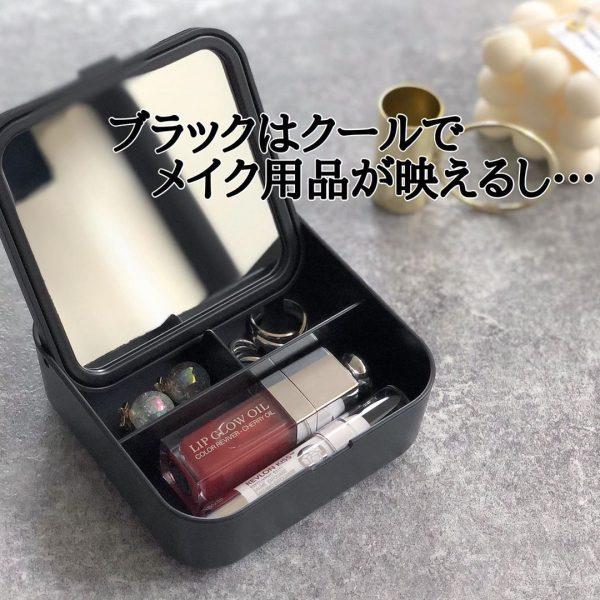 (3)収納ボックス付きミラー