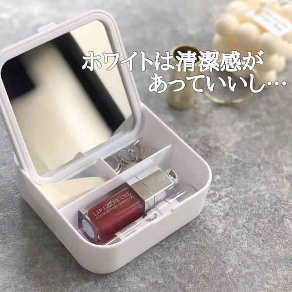 (3)収納ボックス付きミラー2