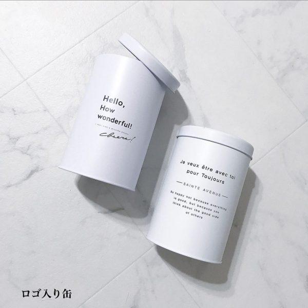 ホワイトインテリアに似合うミニ缶ゴミ箱