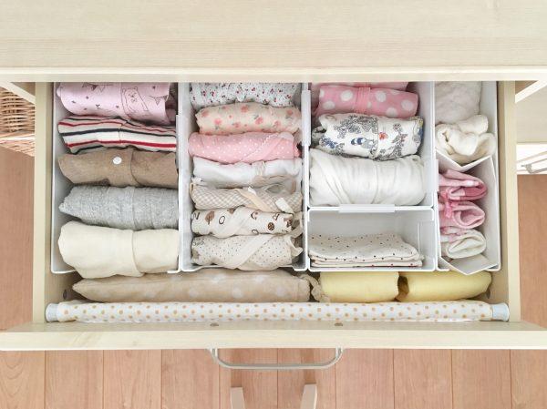 おすすめの子供服の引き出し収納アイデア