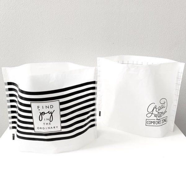 洗練デザインの水切りゴミ袋