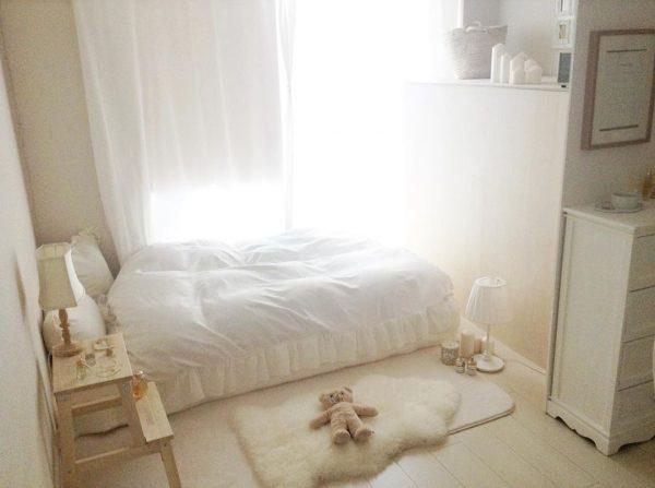 白い家具 インテリア
