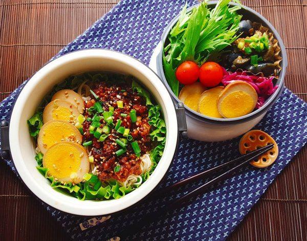 お弁当のアレンジ麺レシピ!ジャージャー麺