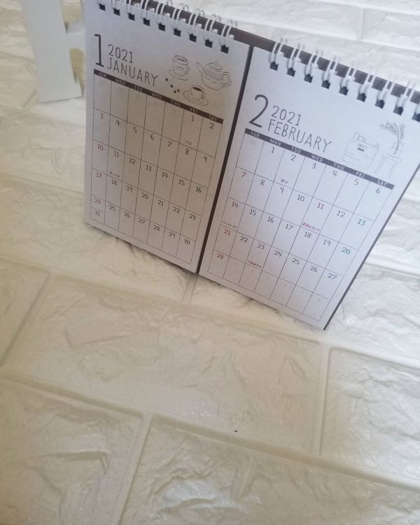 カレンダー。。。