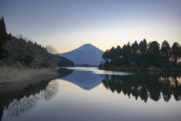 一度は行きたい日本の「田貫湖」