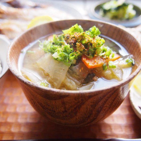 食べるスープのおすすめレシピ特集!和風スープ2