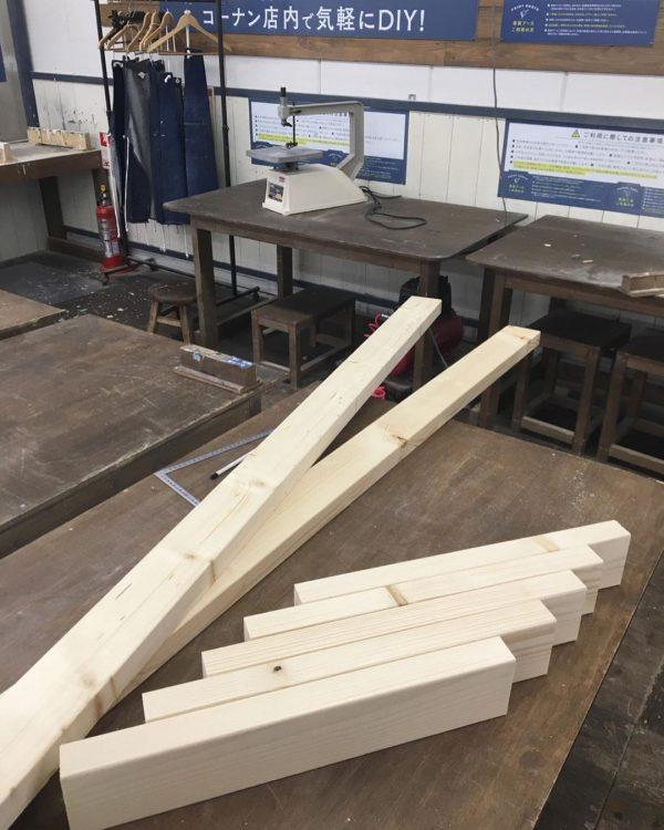 ディアウォールDIYに必須の木材
