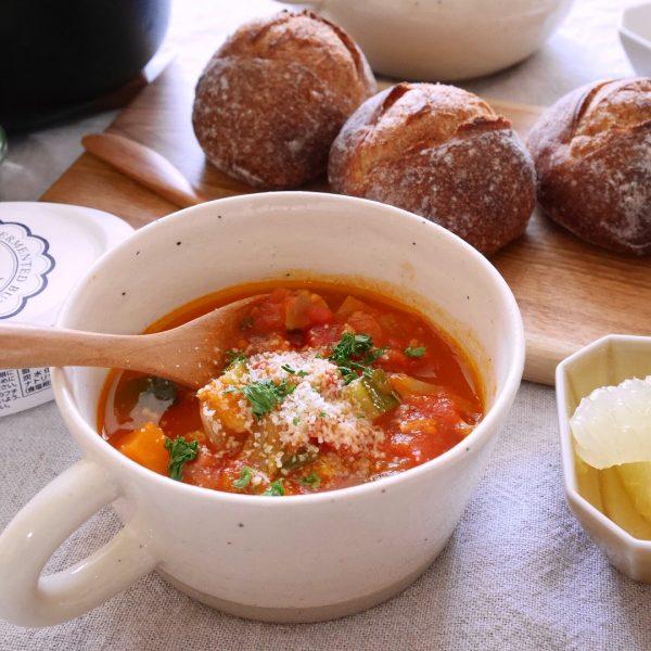 食べるスープのおすすめレシピ特集!トマトスープ2