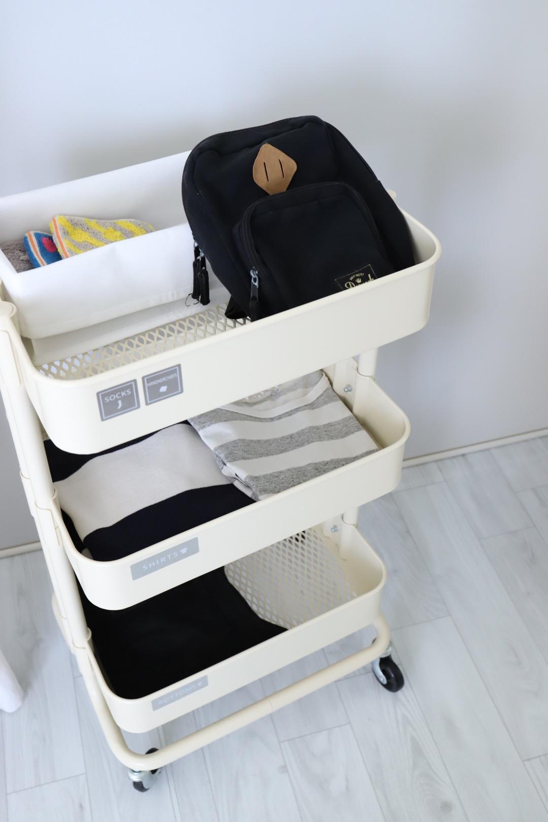 【IKEA】マルチに使えるワゴン