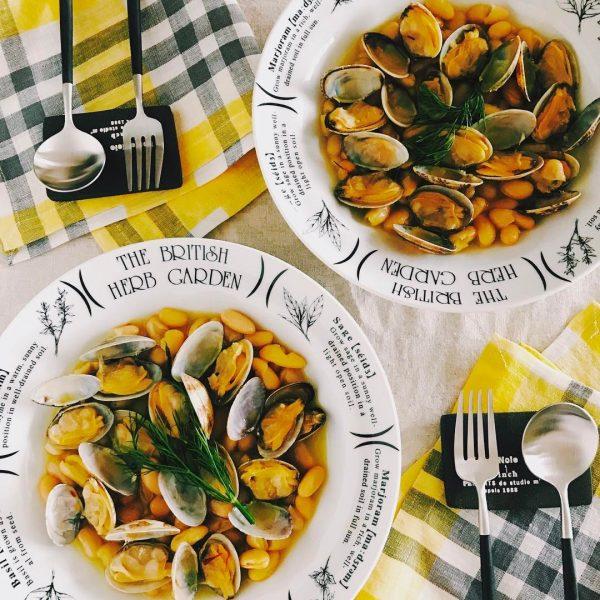 料理が簡単なおかずならあさりのサフラン煮