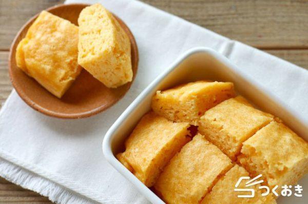フワフワの食感♪おから蒸しパン