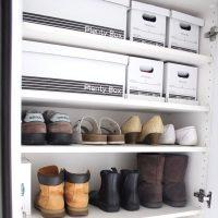 100均シューズボックス特集!狭い下駄箱にたくさん収納できて玄関もすっきり!