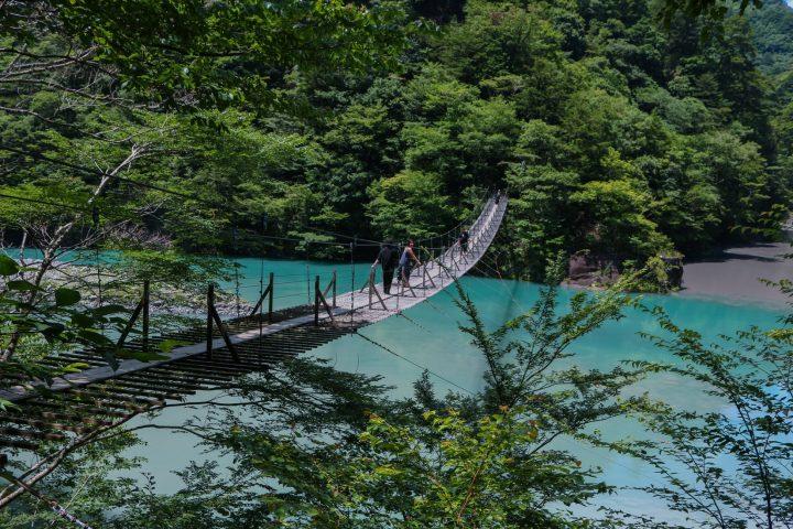 一度は行きたい日本の「夢の吊り橋」