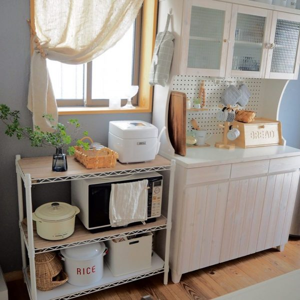 キッチン目隠しカーテンアイデア 小窓5
