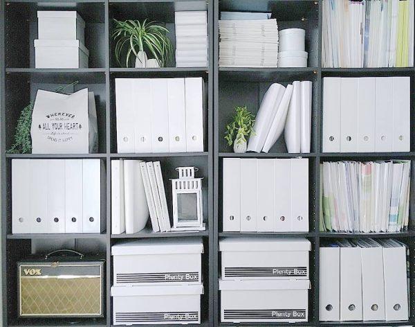 手軽にそろえられる100均ファイルボックス