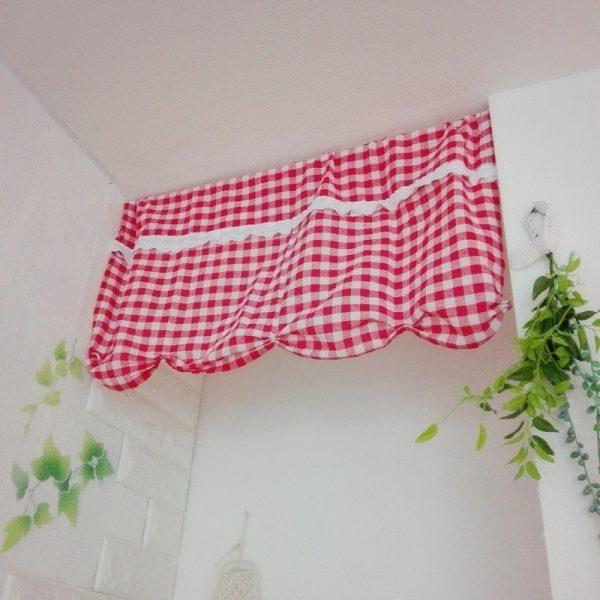 キッチン目隠しカーテンアイデア《その他》3