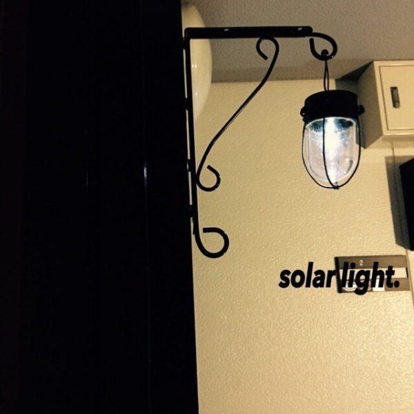 玄関壁面インテリアに◎高見えするDIYライト