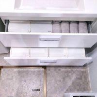 ニトリの洗面所収納アイデア特集!タオルや着替えも使いやすく収納できる♪