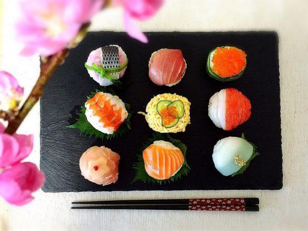 ご飯で締めよう!手毬寿司