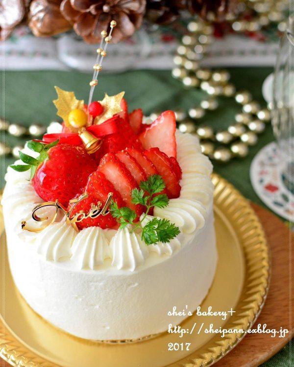 ストロベリークリスマスケーキ