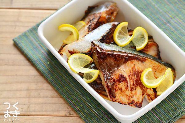 冬の和食レシピ!ブリの塩こうじ漬け焼き
