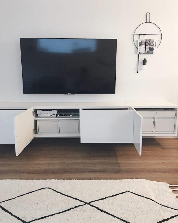 IKEAベスト―で収納力のある壁面収納