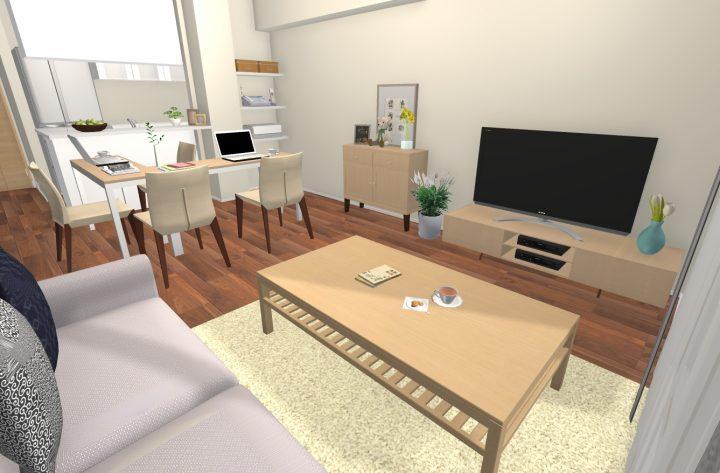在宅勤務や自宅学習には、L字レイアウトが便利!3