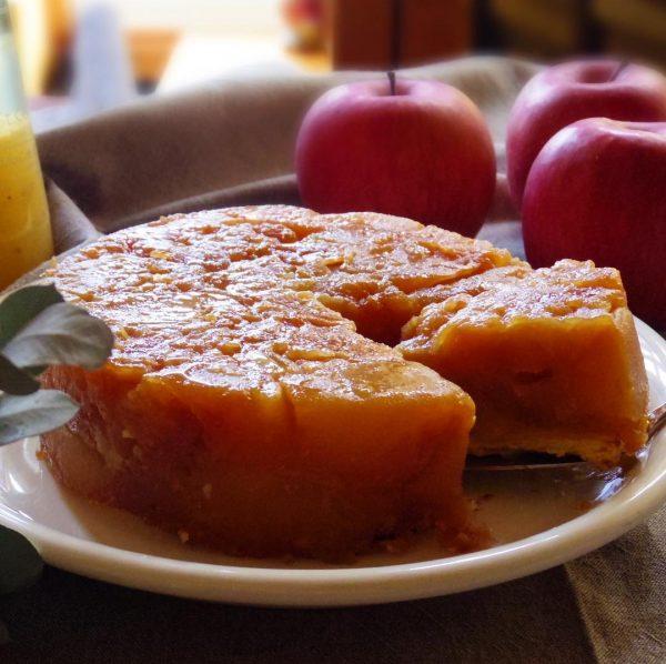 1月もまだ旬が続くりんごのタルトタタン