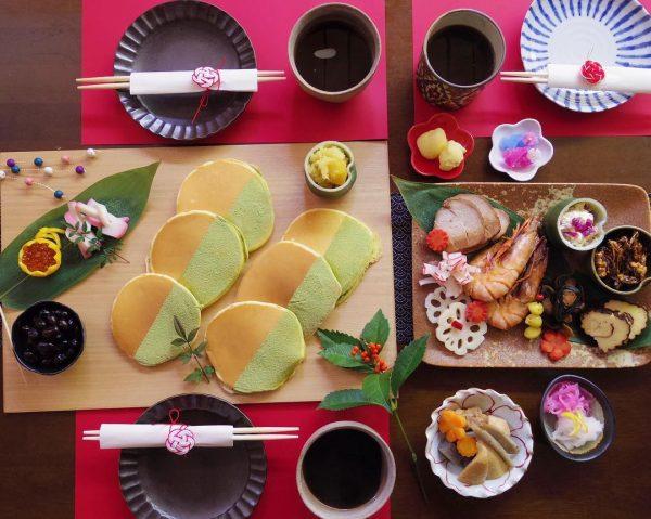 和食器をモダンに使ったテーブルコーディネート