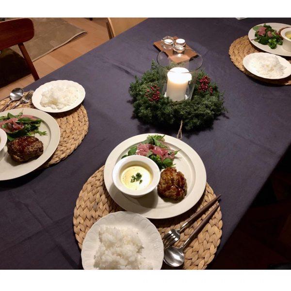 クリスマステーブルコーデ《シンプル》3