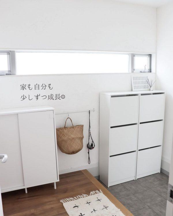 白い家具 インテリア4
