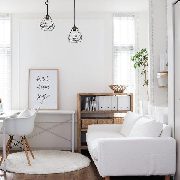 白い家具 インテリア5