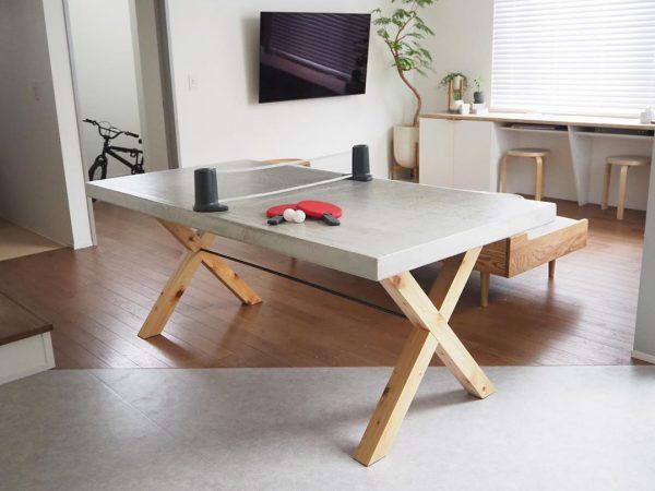 テーブル卓球を楽しむ