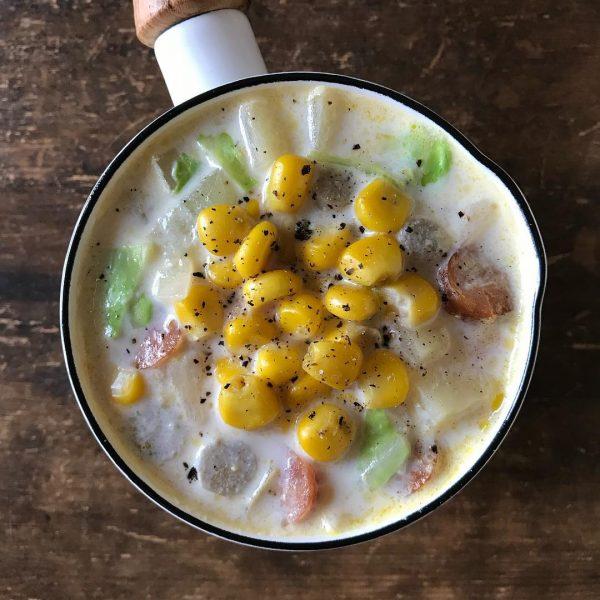 食べるスープのおすすめレシピ特集!クリームスープ5