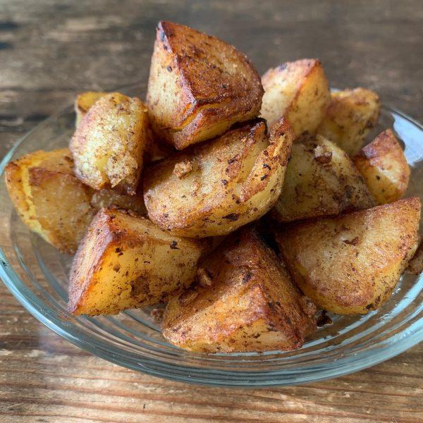 アヒージョ風味の簡単ポテト