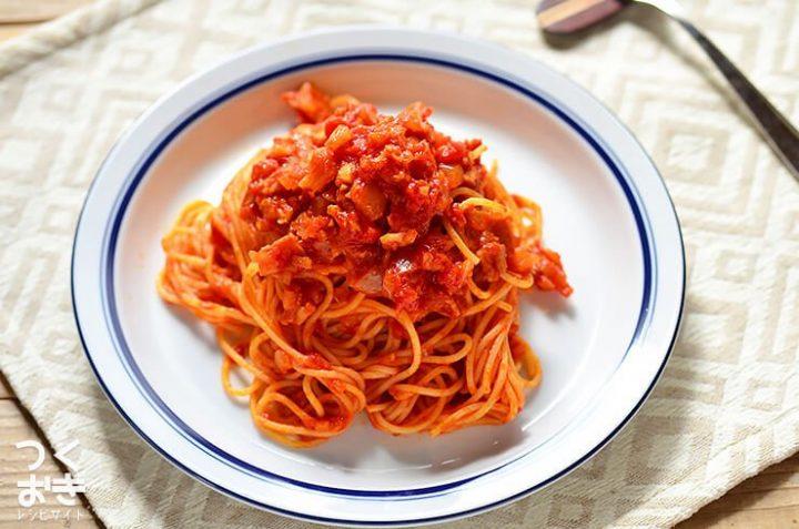 シンプルで美味しい!トマトソースパスタ