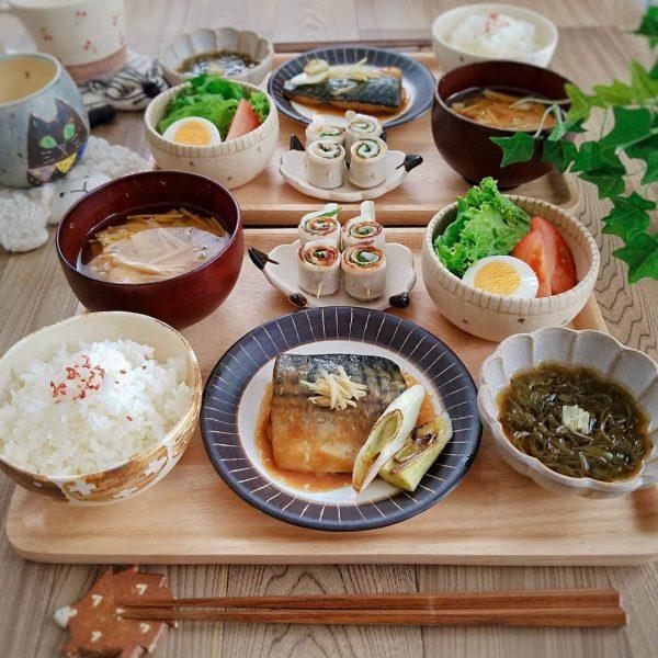 栄養満点!鯖の味噌煮