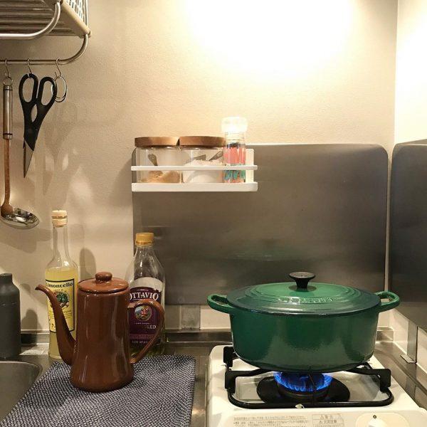 お気に入りのツールで揃えたキッチン