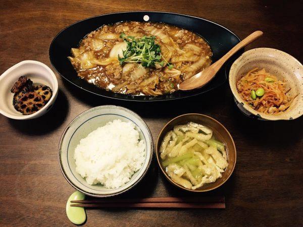 冬野菜で人気の白菜を中華の麻婆白菜に!