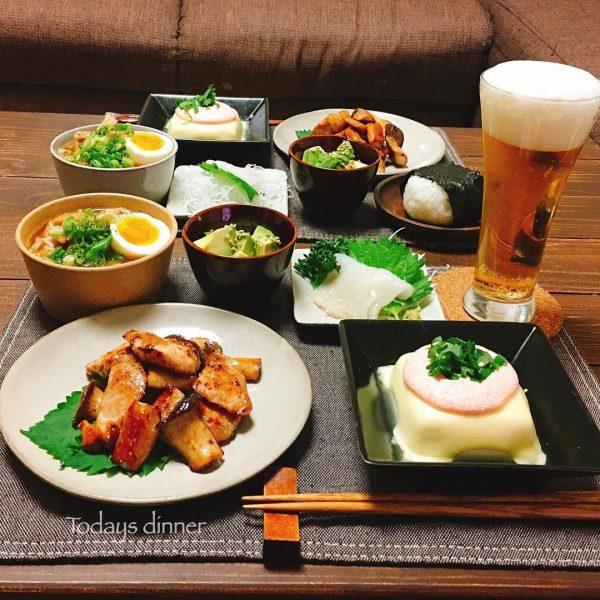 豆腐のたらこマヨクリームソース