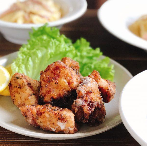 鶏肉のバジル塩唐揚げ