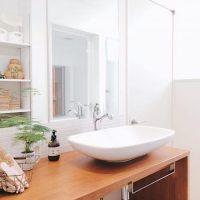 おしゃれなお宅の洗面所インテリアを大公開♡水周りをすっきり整えて毎日気持ちよく♪