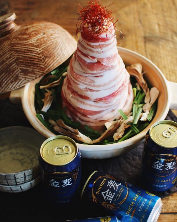 ダイエット中の鍋パに♪肉タワー鍋