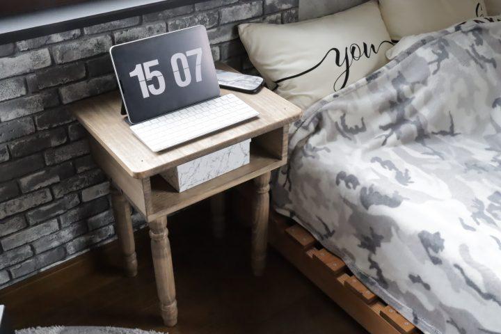 サイドテーブル DIY13