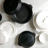 優れた機能とモダンなデザインが素敵♪1年中楽しめる土鍋「KAKOMI」