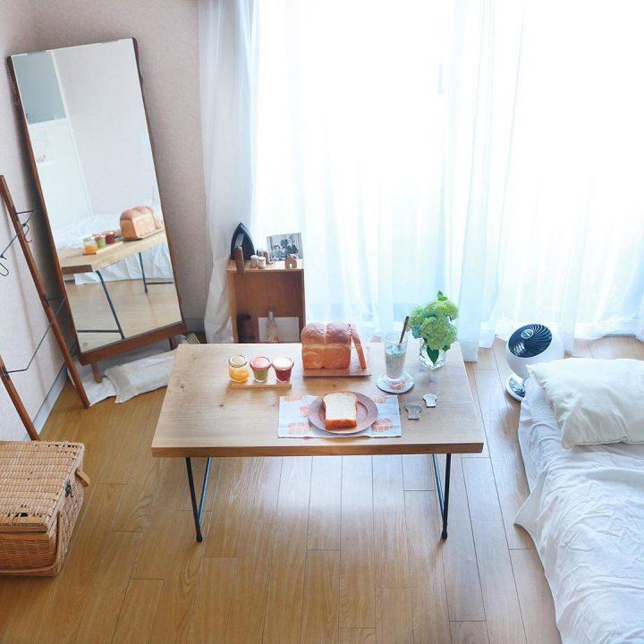 【17㎡】フレキシブルな家具の組み合わせで住みこなすワンルーム