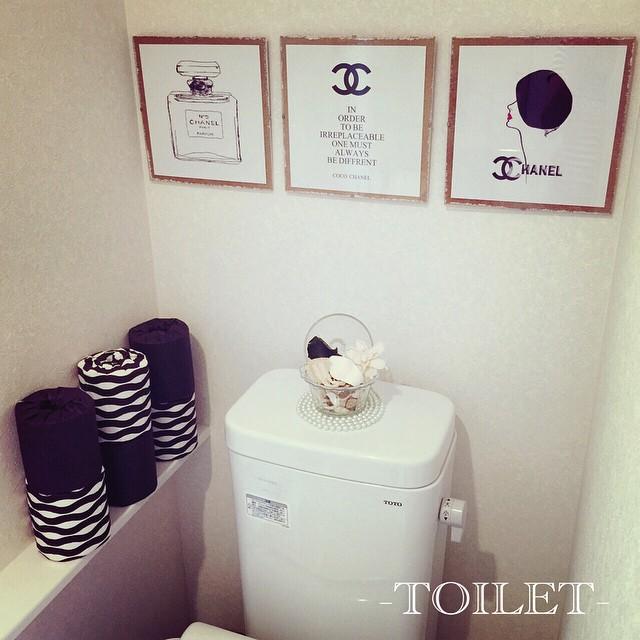 トイレのおしゃれなレイアウト15