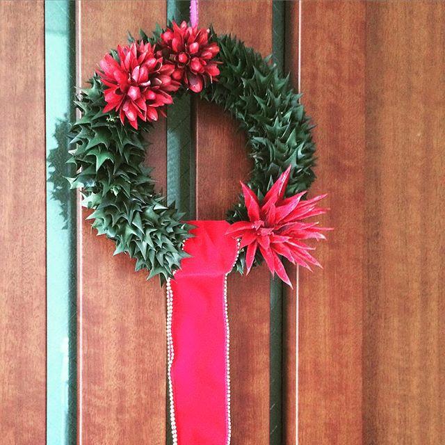 入り口に飾りたいクリスマス雑貨